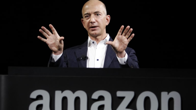 Jeff Bezos started Amazon in his garage and is now the richest person in the world.