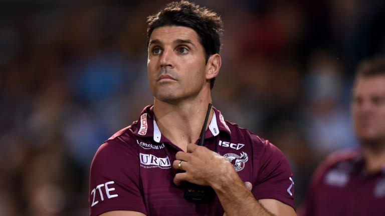Board support: Trent Barrett may not have to wait long for another crack in the NRL.