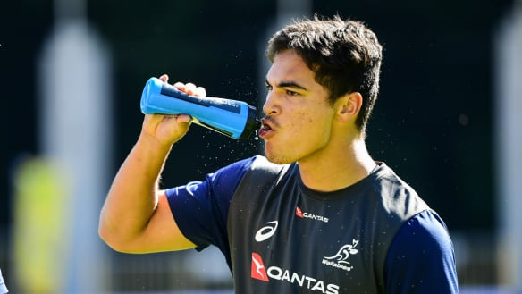 Gordon and Petaia to make Wallabies debuts, as Cheika recalls Ashley-Cooper