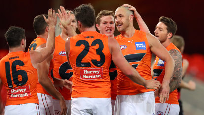 Giants stand tall to sink Bombers