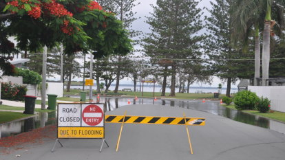 King tide peak looms along south-east Queensland coast