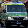 The 12-year-old girl was taken to Perth Children's Hospital.