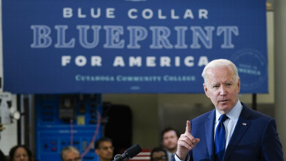 Biden banks on $US3.6 trillion tax hike for the rich