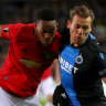 Martial helps Manchester United claim vital Europa League draw