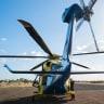 Man struck in head by excavator bucket flown nine hours to hospital