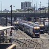 Commuters evacuated after fire breaks out on Melbourne-bound train