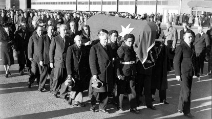 From the Archives, 1945: Parliament farewells PM John Curtin