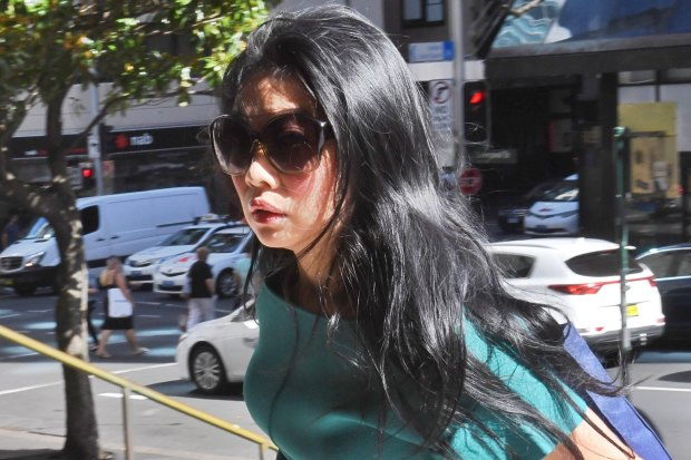 Radiologist Denise Lee appears at Downing Centre court accused of stalking a former Tinder date.