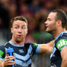 Filthy: NSW playmaker James Maloney says Queensland can expect similar treatment to that dished out by the Maroons in Perth.