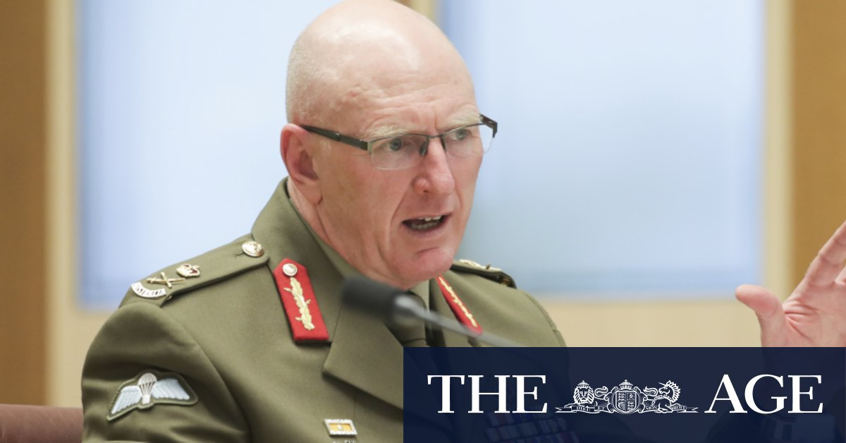 'This is about priorities': ADF chief says no state will get troops for border patrol