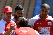 Tongan coach Kristian Woolf had simple reasons why he passed on Israel Folau.
