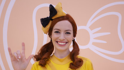'I am so grateful to the fans': Curtain call for Yellow Wiggle Emma Watkins