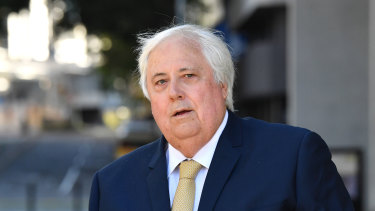 Clive Palmer has hit out at Australia's corporate watchdog over fresh charges laid against him this month.