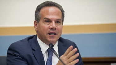 """The more I learned, the more alarming it became"": David Cicilline."