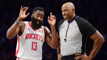 James Harden has been fined for breaching the NBA's coronavirus protocols.