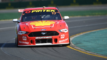 Ford driver Scott McLaughlin was the runaway winner of the Supercars Championship last year.