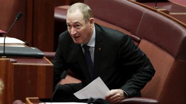 Fraser Anning's advisor Richard Mcgilvray has resigned over Senator Anning's 'final solution' maiden speech.
