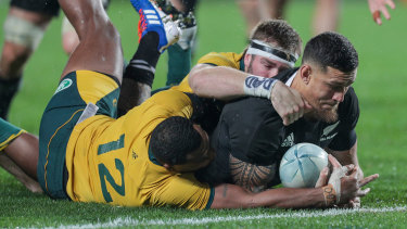 Williams has been part of the All Blacks fold for the last five years.
