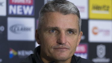 Catalogue of questions: Ivan Cleary has defended himself on a number of fronts.