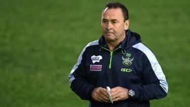 Raiders coach Ricky Stuart has defended Craig Bellamy's resting policy.