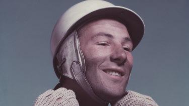 Stirling Moss, circa 1955.