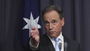 Healthcare Australia provided false information to the Australian government, Mr Hunt said.