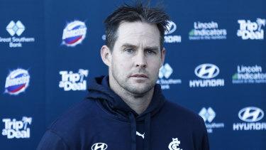 David Teague says he is the man to coach Carlton going forward.