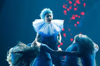 Montaigne was due to represent Australia in Eurovision's 65th year.