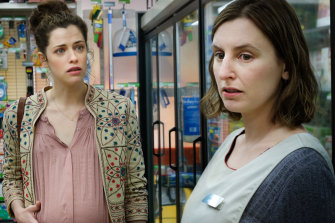 Jessica De Gouw and Laura Carmichael in the quota-satisfying Ten series The Secrets She Keeps.