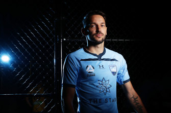 In the spotlight: Milos Ninkovic is wanted by Macarthur Bulls.