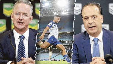 Nine's lashing of NRL raises serious questions