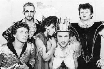 Skyhooks in 1976 (Symons at far right).