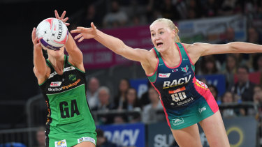 Jo Weston is one of seven Victorian-based netballers to be named in the Diamonds squad.