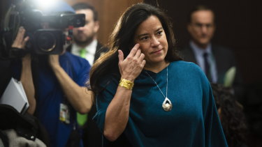 Canada's former attorney-general Jody Wilson-Raybould appeared before Canada's parliamentary committee on justice before Mr Butts.