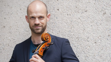 Cellist Chris Pidcock will be the soloist in the Elgar Cello Concerto.