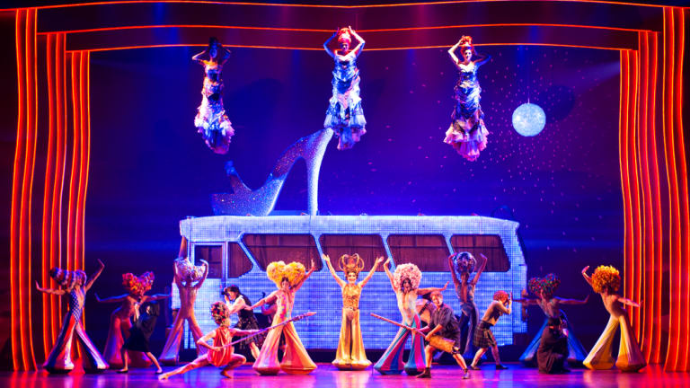 A taste of what Brisbane audiences can expect when Priscilla comes to town.