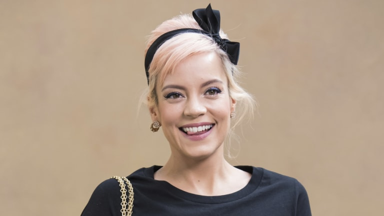 Lily Allen in March.
