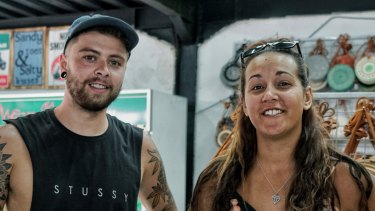 Rosa Hughes and her boyfriend Jake Rodgers are British tourists staying in Kuta.