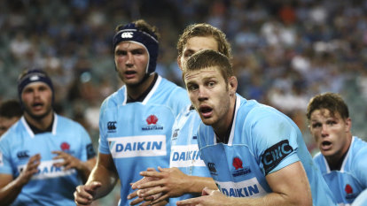 Waratahs forwards vow to stand up against Sharks