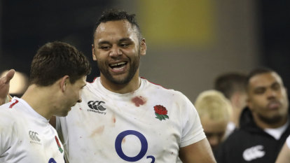 Star England forward shows support for embattled Folau's posts