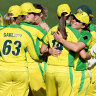 Twenty-one not out: Australia equal ODI world record after thrashing New Zealand