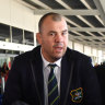 Cheika wants next Wallabies coach to be Australian