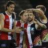 As it happened: Saints upset Swans, Power pip Crows, Suns end Blues' season, Tigers overwhelm North