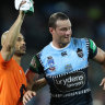 De Gois believes Cordner can be a 'role model' for brain health