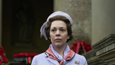Olivia Coleman, The Crown, season 3.