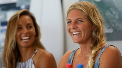 Waving to Tokyo: Fitzgibbons, Gilmore lock in Olympic places