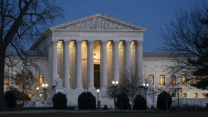 US Supreme Court to consider gutting landmark 1973 Roe v Wade abortion law