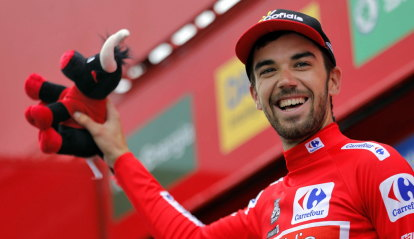 Rodriguez snatches Vuelta stage win as Yates reels in Herrada