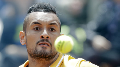 Feuding with the Nadals: 'I'll try and clean up my act,' Kyrgios says with a wink