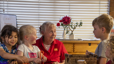 In an industry known for its high staff turnover, Peggy Lane has worked at the same childcare centre for 45 years